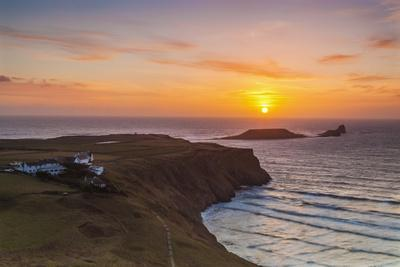 Rhossili Bay, Worms End, Gower, Wales, United Kingdom, Europe