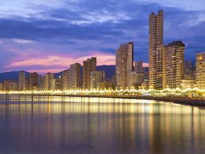 Benidorm, Alicante Province, Spain, Mediterranean, Europe by Billy Stock