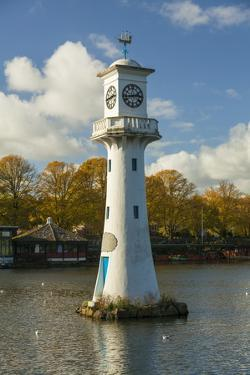 Captain Scott Memorial Lighthouse, Roath Park, Cardiff, Wales, U.K. by Billy Stock