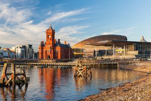 Cardiff Bay, Cardiff, Wales by Billy Stock