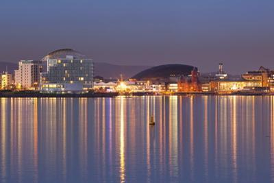 Cardiff Bay, Wales, United Kingdom, Europe by Billy Stock