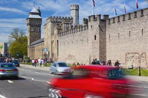 Cardiff Castle, Cardiff, Wales, United Kingdom, Europe by Billy Stock