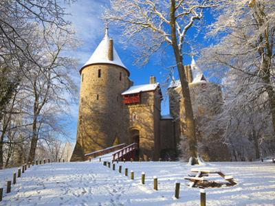 Castell Coch, Tongwynlais, Cardiff, South Wales, Wales, United Kingdom, Europe by Billy Stock