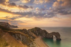 Durdle Door, Lulworth Cove, Jurassic Coastdorset, England by Billy Stock