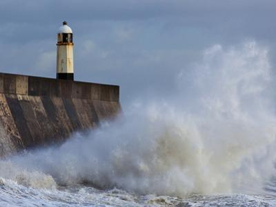 Harbour Light, Porthcawl, South Wales, Wales, United Kingdom, Europe by Billy Stock