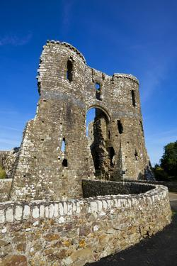 Llawhaden Castle, Pembrokeshire, Wales, United Kingdom, Europe by Billy Stock