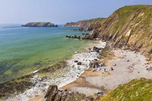 Marloes Sands, Pembrokeshire, Wales, United Kingdom, Europe by Billy Stock