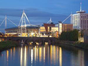Millennium Stadium, Cardiff, South Wales, Wales, United Kingdom, Europe by Billy Stock