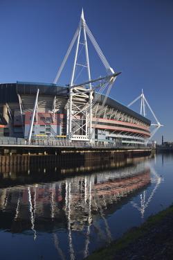 Millennium Stadium, Cardiff, Wales, United Kingdom, Europe by Billy Stock