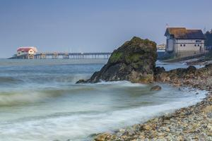 Mumbles Pier, Gower, Swansea, Wales, United Kingdom, Europe by Billy Stock