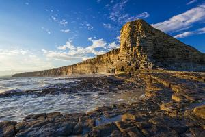 Nash Point, Vale of Glamorgan, Wales, United Kingdom, Europe by Billy Stock