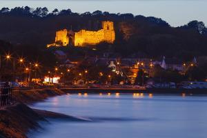 Oystermouth Castle, Mumbles, Swansea Wales, United Kingdom, Europe by Billy Stock