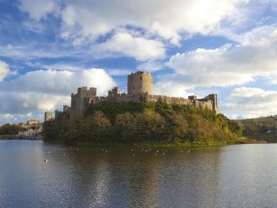 Pembroke Castle, Pembrokeshire, Wales, United Kingdom, Europe by Billy Stock