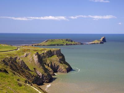 Rhossili Bay, Gower Peninsula, Wales, United Kingdom, Europe