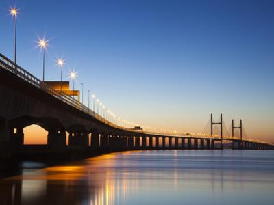 Second Severn Crossing Bridge, South East Wales, Wales, United Kingdom, Europe by Billy Stock
