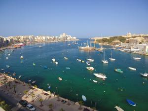 Sliema, Malta, Mediterranean, Europe by Billy Stock
