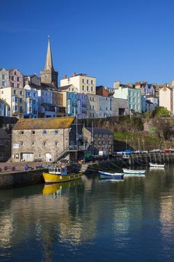 Tenby, West Wales, Pembrokeshire, Wales, United Kingdom by Billy Stock
