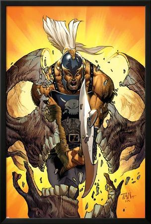 Dark Avengers: Ares No.2 Cover: Ares