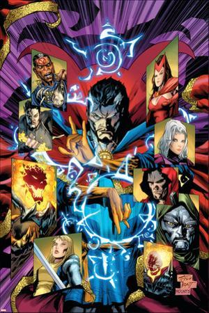 New Avengers No.51 Cover: Dr. Strange by Billy Tan