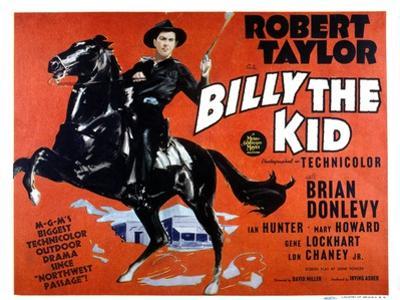 Billy the Kid, Robert Taylor, 1941