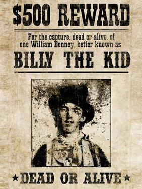 Billy The Kid Western Wanted