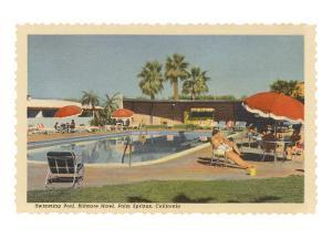 Biltmore Hotel Swimming Pool, Palm Springs, California