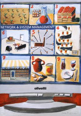 Olivetti Network And System by Bimfield