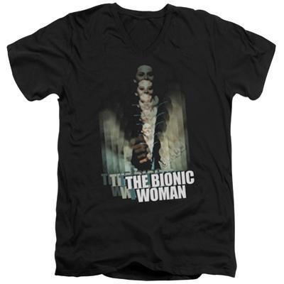 Bionic Woman - Motion Blur V-Neck