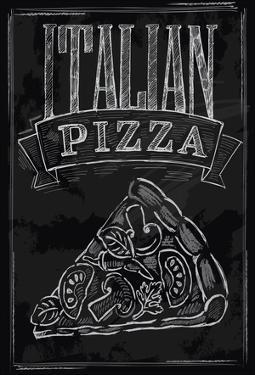 Chalk Pizza by bioraven