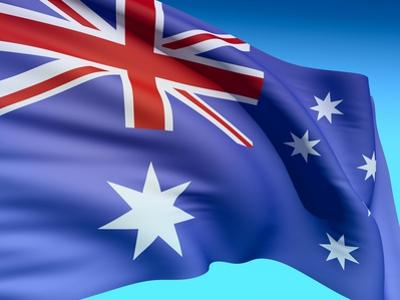 Flag Of Australia by bioraven