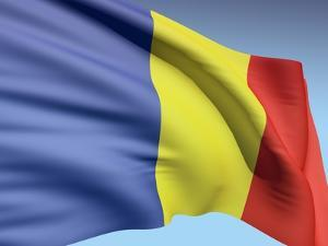 Flag Of Romania by bioraven