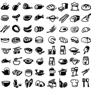 Food Icons by bioraven