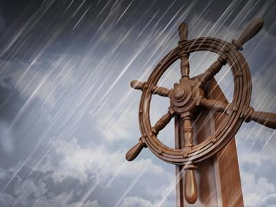Ships Wheel, Storm by bioraven
