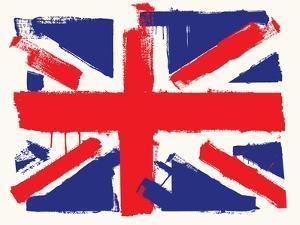 Uk Paint Flag by bioraven