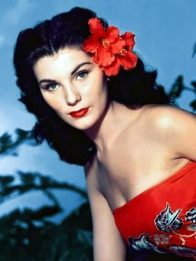 BIRD OF PARADISE, 1951 directed by DELMER DAVES Debra Paget (photo)