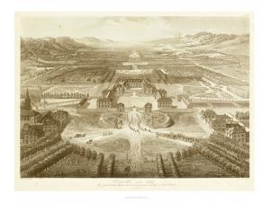 Bird's Eye View of Versailles