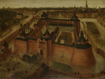 Birds-Eye View of the Vredenburg (Vredeborch) Castle in Utrecht