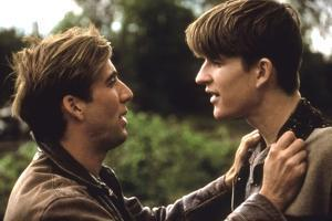 BIRDY, 1984 directed by ALAN PARKER Nicolas Cage and Matthew Modine (photo)