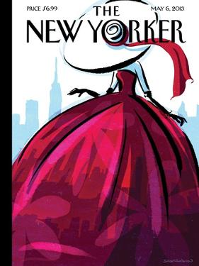 City Flair - The New Yorker Cover, May 6, 2013 by Birgit Schössow
