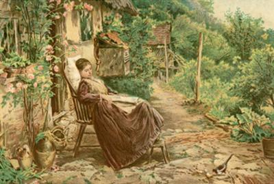 Convalescing Woman 19C