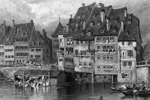 France Strasbourg by Birket Foster