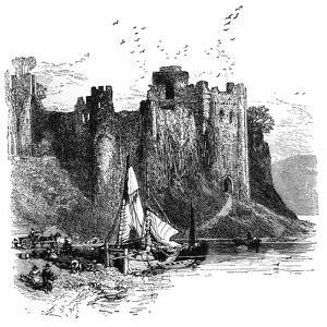 Pembroke Castle, 1930S by Birket Foster