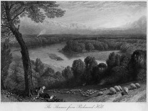 Richmond Hill, Surrey by Birket Foster