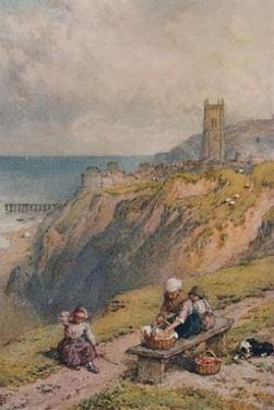 'View of Cromer', 19th century, (1935) by Birket Foster