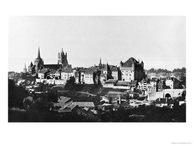 View of Lausanne, circa 1856-60