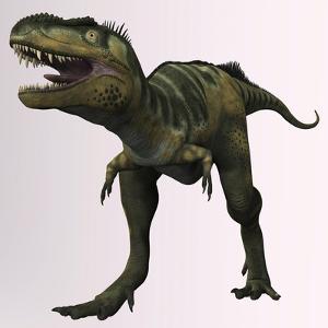 Bistahieversor Sealeyi Dinosaur of the Cretaceous Period