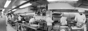 Black and White, Chefs in Kitchen