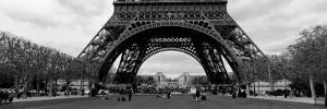 Black and White, Eiffel Tower, Paris, France