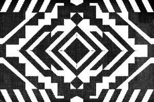 Black and White Textile Pattern