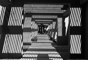 Black and White Walkway Scottsdale Arizona